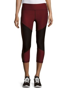 Gottex Cropped Colorblock Leggings