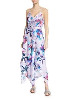 Gottex Primrose Wrap Coverup Maxi Dress