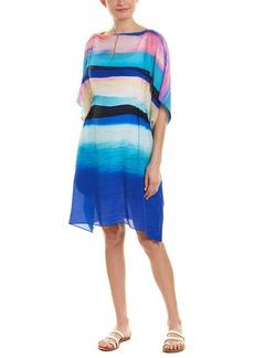 Gottex Sunrise Silk Cover-Up Dress