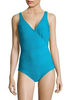 Gottex Essence One-Piece Surplice Swimsuit