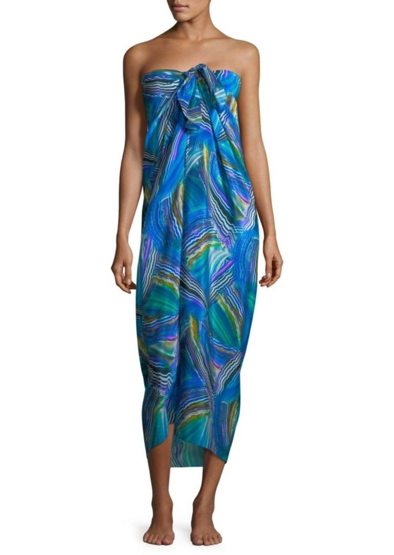 d9248062c4367 Gottex Pareo Tourmaline Silk Cover-Up | Swimwear