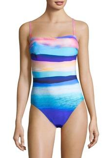 Gottex Seascape One-Piece Tank Swimsuit