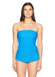 Gottex Women's Bandeau Swimdress One Piece Swimsuit