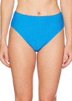 Gottex Women's Textured High Waist Swimsuit Bottom