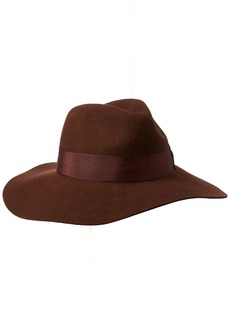 Gottex Women's Laurent Felt Fedora Sun Hat Rated UPF 50+ For Max Sun Protection