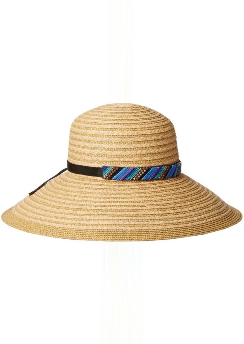 f1b085299395a9 Gottex Women's Women's Marrakesh Raffia Packable Sun Hat Rated UPF 50+ for Maximum  Sun Protection