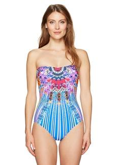 Gottex Women's Sweetheart Bandeau One Piece Swimsuit Sarasana