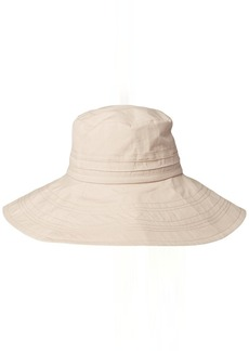 Gottex Women's Seychelle Packable Cotton Sun Hat Rated UPF 50+ for Max Sun Protection