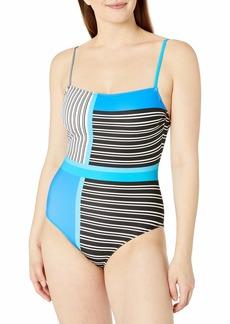 Gottex Women's Straight Neck One Piece Swimsuit
