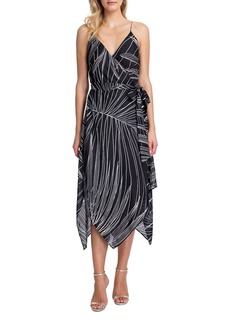 Gottex Palla Printed Wrap Dress