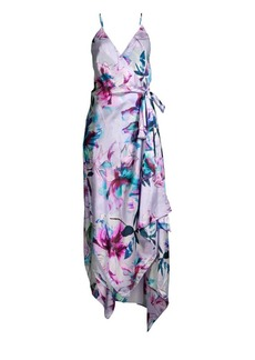 Gottex Primrose Cotton & Silk Wrap Dress