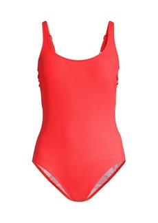 Gottex Ribbed One-Piece