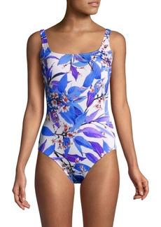 Gottex Sakura Floral Swimsuit