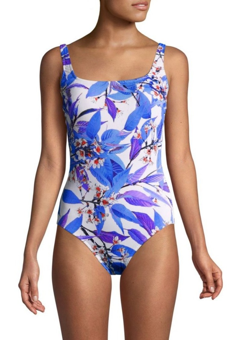 89fb33f0f Gottex Sakura Floral Swimsuit