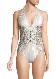 Gottex Special Couture Halterneck One-Piece