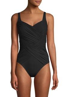 Gottex Square Neck Swimsuit