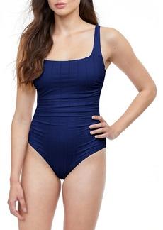 Gottex Textured One-Piece Swimsuit