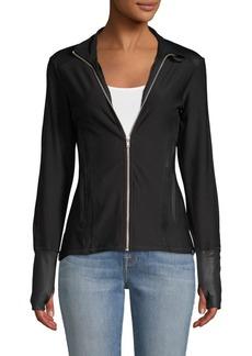 Gottex Thumbhole Zip-Up Jacket