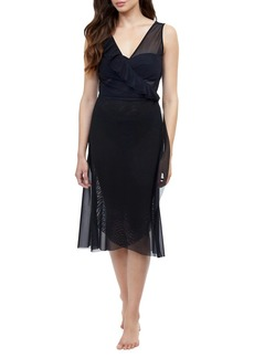 Gottex Viva Surplice Cover-Up Dress