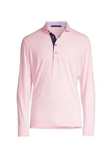 Greyson Apache Long-Sleeve Polo Shirt