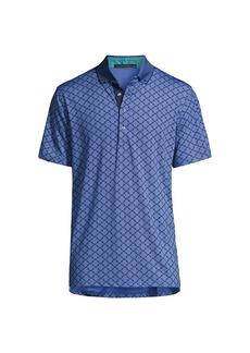 Greyson Beacon Printed Polo Shirt