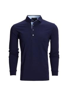 Greyson Classic-Fit Apache II Long-Sleeve Polo Shirt