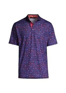 Greyson Flora & Fauna Polo Shirt