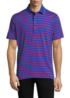 Greyson Massapequa Modern Tailored-Fit Embellished Polo