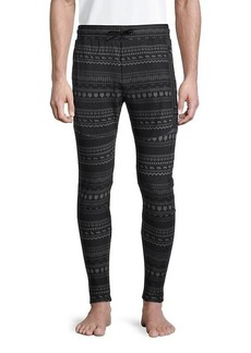 Greyson Printed Drawstring Jogger Pants