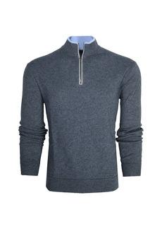 Greyson Sebonack Quarter-Zip Pullover