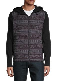 Greyson Senesqua-Print Hooded Jacket