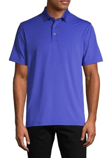 Greyson Short-Sleeve Stretch Polo