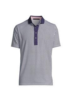 Greyson Stinger Printed Polo Shirt