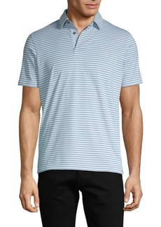 Greyson Striped Short-Sleeve Polo