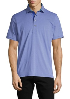 Greyson Striped Stretch Polo