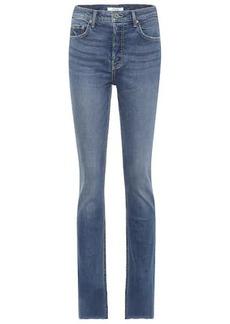 GRLFRND Addison high-rise straight jeans