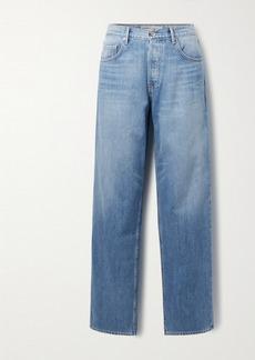 GRLFRND Bella Low-rise Straight-leg Jeans