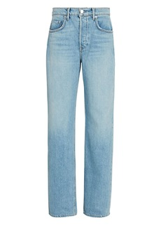 GRLFRND Brooklyn High-Rise Straight-Leg Jeans