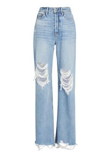 GRLFRND Carla Wide-Leg Jeans