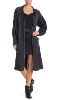 GRLFRND Cybile Denim Car Coat