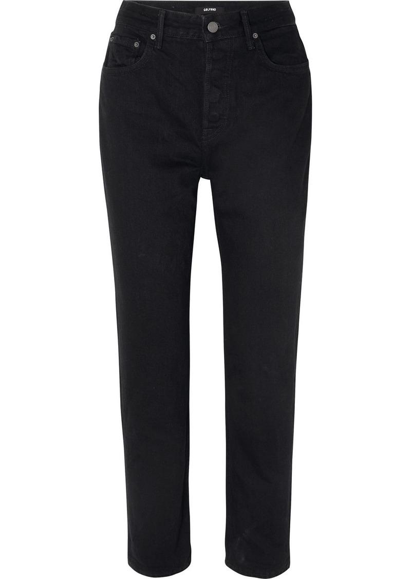 GRLFRND Devon Organic High-rise Straight-leg Jeans