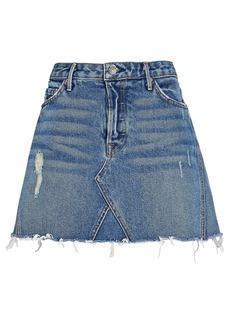 GRLFRND Eva Denim Mini Skirt