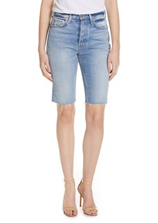 GRLFRND Beverly Bermuda Denim Shorts (One for the Road)