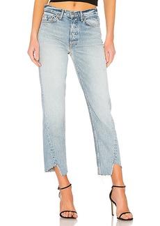 GRLFRND Carmen High-Rise Straight Leg Jean