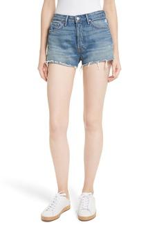 GRLFRND Cindy Rigid High Waist Denim Shorts (Nobody Does It Better)