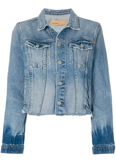 GRLFRND cropped denim jacket