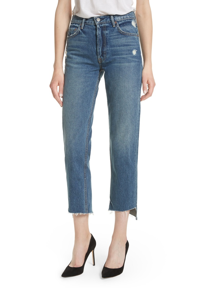 GRLFRND Helena Rigid High Waist Straight Jeans (Close To You)