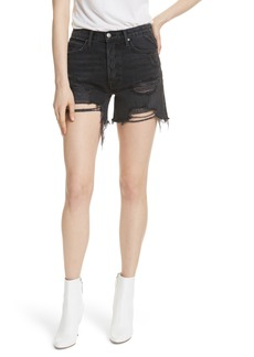GRLFRND Jourdan Denim Shorts (Debauched)