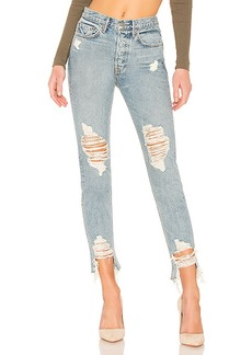 GRLFRND Karolina Crop High-Rise Skinny Jean
