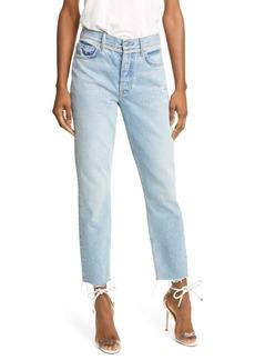 GRLFRND Karolina Crystal Trim Skinny Jeans (Kick It)